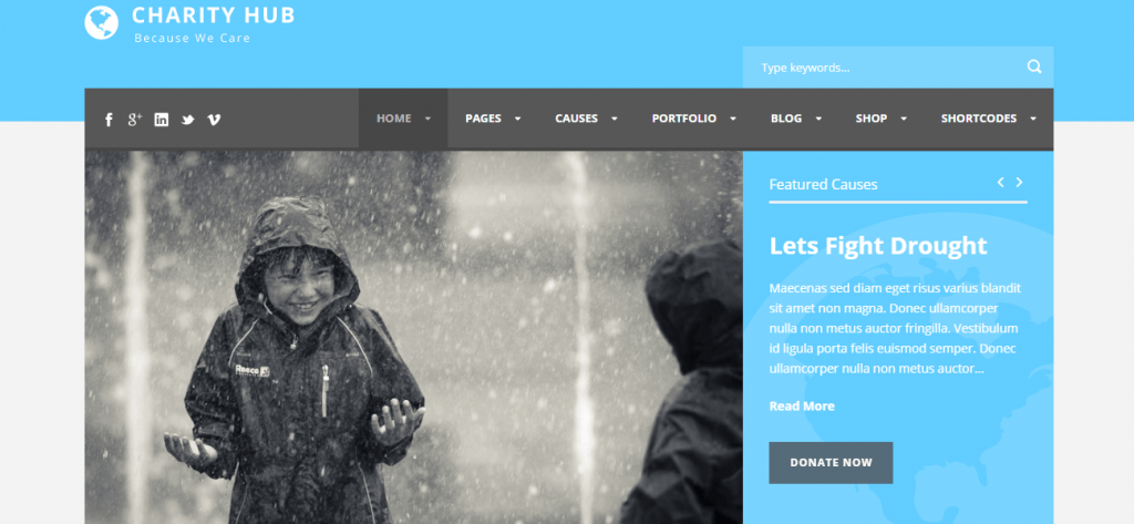 Responsive WordPress Themes for Non-Profits