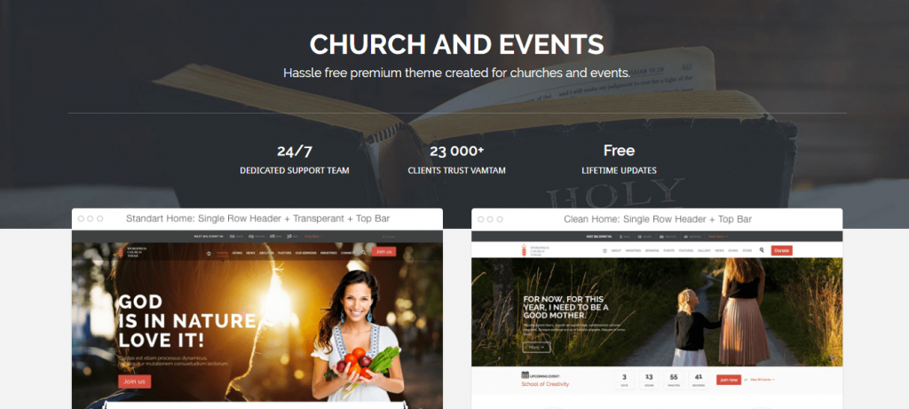 Best Non-profit WordPress Themes 2017